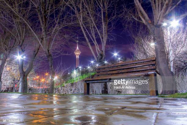 Lights of Tehran City