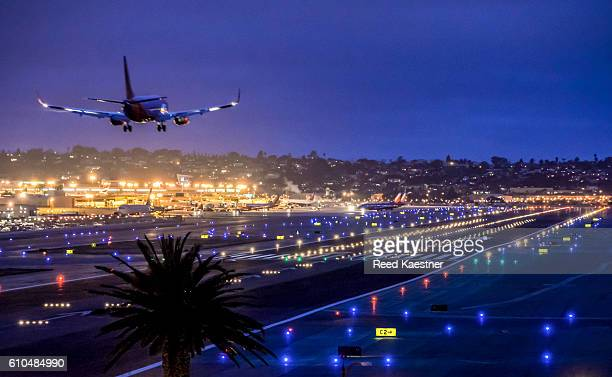 LED lights on runways and taxiways save money for San Diego's Airport Authority