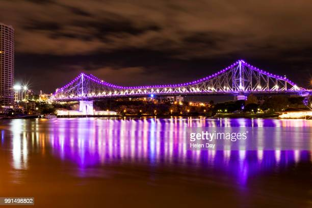 Lights on the Storey Bridge