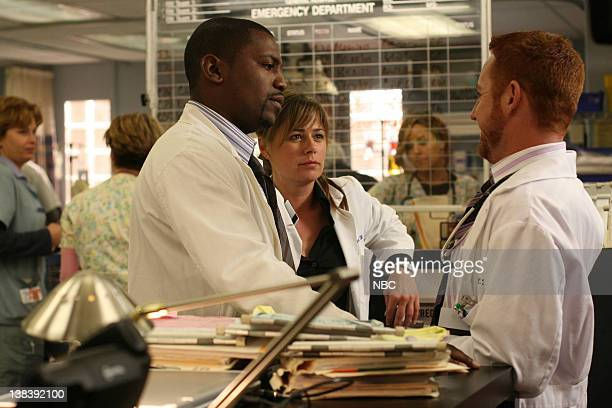 ER 'Lights Out' Episode 20 Air Date Pictured Mekhi Phifer as Gregory Pratt Maura Tierney as Doctor Abby Lockhart Scott Grimes as Doctor Archie Morris