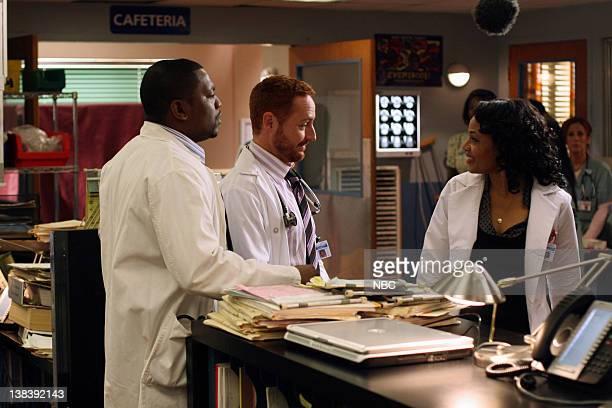 ER 'Lights Out' Episode 20 Air Date Pictured Mekhi Phifer as Gregory Pratt Scott Grimes as Doctor Archie Morris Gina Ravera as Bettina DeJesus