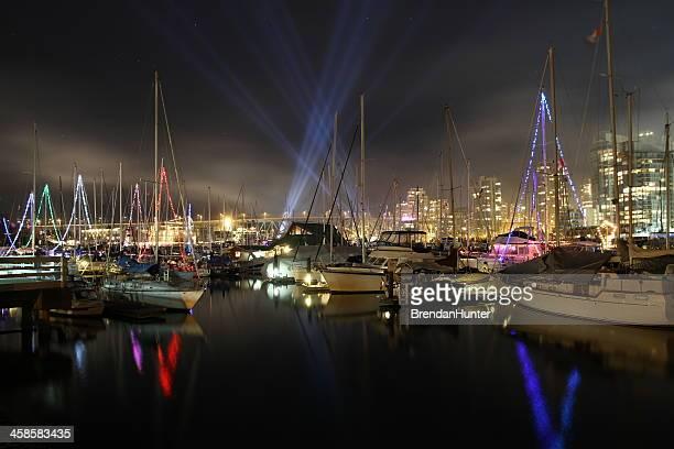 Lichter auf den Hafen