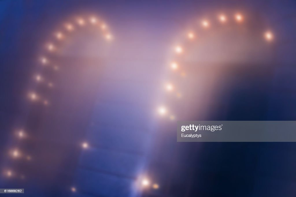 Lights, Window, Night : Stock Photo