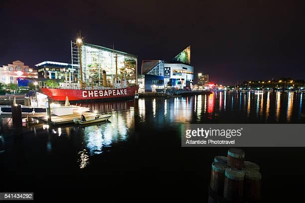 Lightship 116 Chesapeake and the National Aquarium