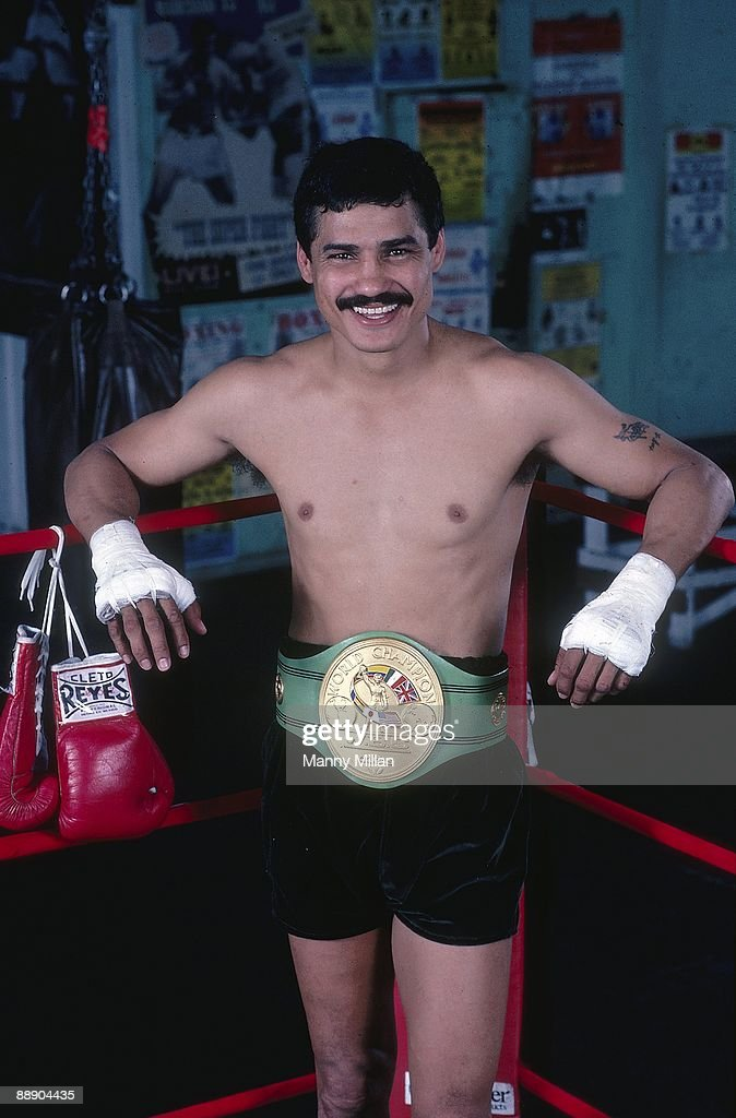 Alexis Arguello, Lightweight Boxing : News Photo