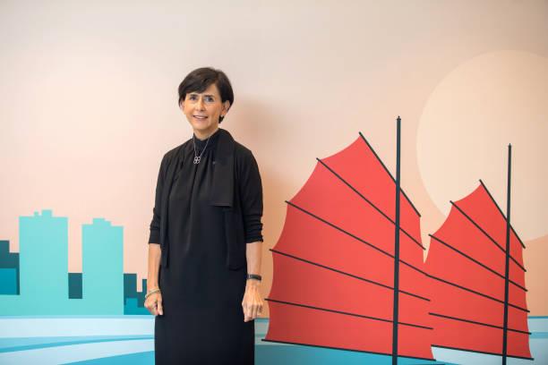 CHN: BNP Paribas Asset Management Asia Pacific CEO Ligia Torres Portraits