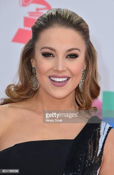 Ligia Uriarte attends the 17th Annual Latin Grammy Awards at TMobile Arena on November 17 2016 in Las Vegas Nevada