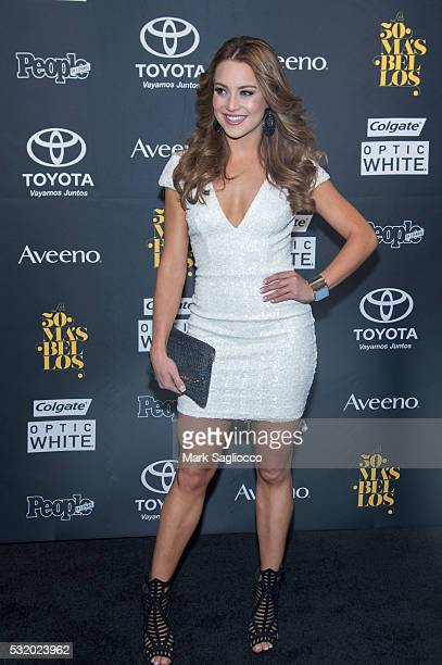 Ligia Uriarte attends the People En Espanol 50 Most Beautiful at Espace on May 17 2016 in New York City