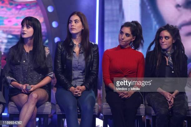 Ligia Uriarte Jackie Sauza Tania Niebla and Ana Cristina Rubio during 'Sin Miedo a la Verdad' Presents Season 2 at Televisa San Angel on July 3 2019...