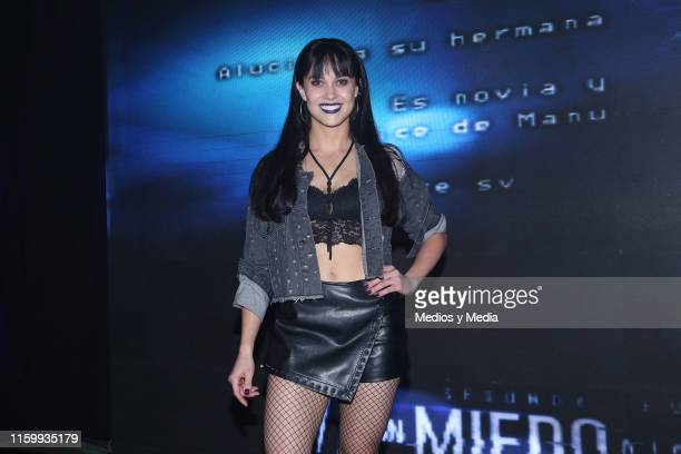 Ligia Uriarte poses for photos during 'Sin Miedo a la Verdad' Presents Season 2 at Televisa San Angel on July 3 2019 in Mexico City Mexico