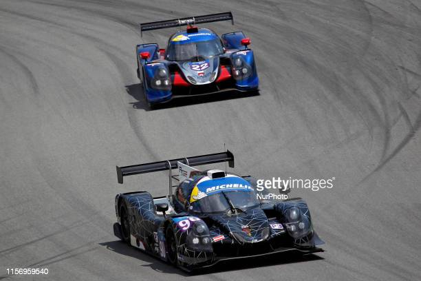 Ligier JS P3 Nissan of A. Talkanitsa and A. Talkanitsa Jr. And Ligier JS Nissan otf McGuire and Bell during the training sessions of the Michelin Le...