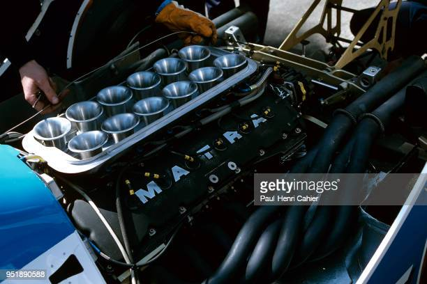 LigierMatra JS17B Grand Prix of Belgium Circuit Zolder 09 May 1982 Matra MS81 30 V12
