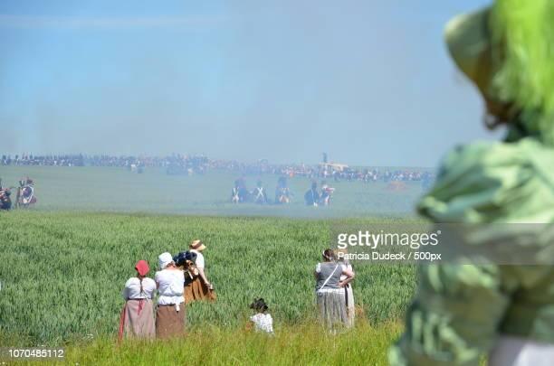 ligny: napoleon's last victory remembered - napoleon hill stock-fotos und bilder