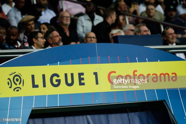 Ligue 1 Conforama during the French League 1 match between Paris Saint Germain v Toulouse at the Parc des Princes on August 25, 2019 in Paris France
