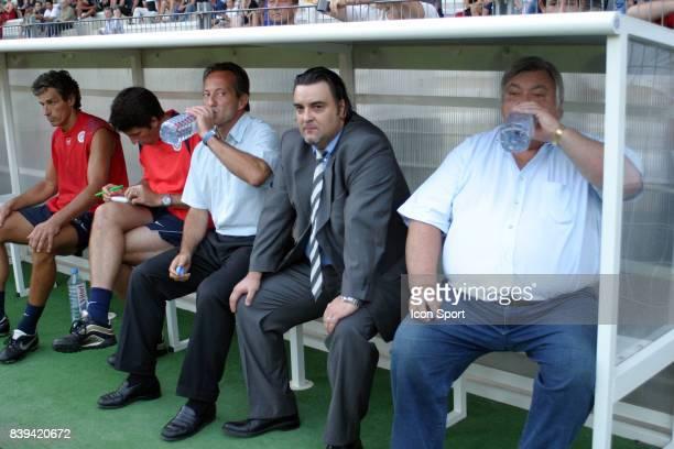 Jean Francois DOMERGUE Olivier et Louis NICOLLIN Montpellier Ligue 2
