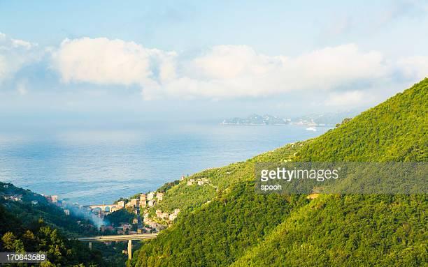 ligurian landscape - portofino stock pictures, royalty-free photos & images