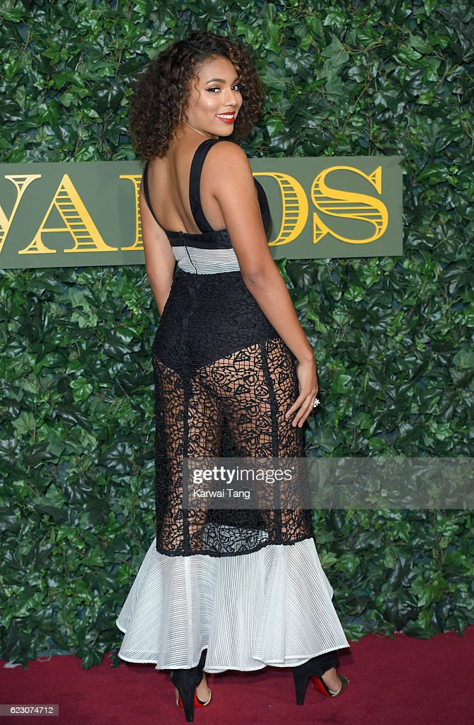 Liisi LaFontaine attends The London Evening Standard Theatre Awards at The Old Vic Theatre on November 13, 2016 in London, England.