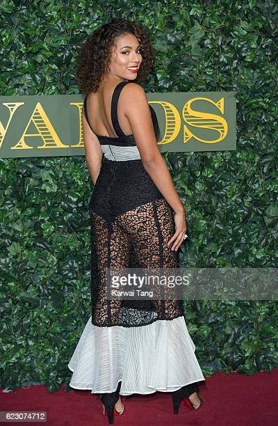 Liisi LaFontaine attends The London Evening Standard Theatre Awards at The Old Vic Theatre on November 13 2016 in London England