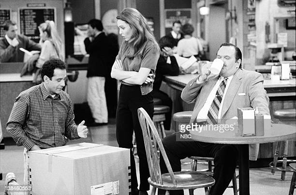 WINGS Like a Neighbor Scorned Episode 2 Air Date Pictured Tony Shalhoub as Antonio Scarpacci Amy Yasbeck as Casey Chapel Davenport and David Schramm...