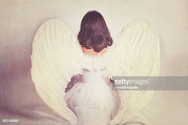 like an angel - angel stock pictures, royalty-free photos & images