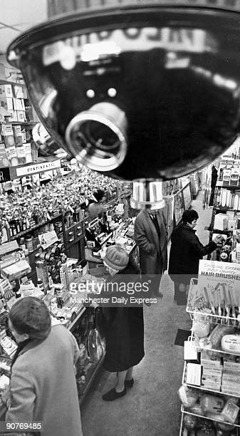 Like an Orwell creation the allseeing camera hovers over customers ready to wage a multimillionpound war Surveillance system to catch shoplifters