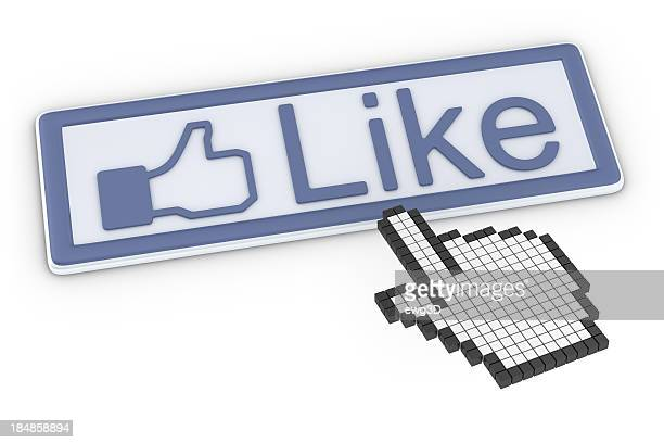 Like Button and Cursor Hand