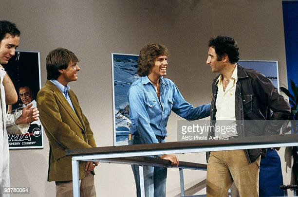TAXI 'Like Father Like Daughter' Season One 9/12/78 Andy Kaufman Randall Carver Jeff Conaway Judd Hirsch on the ABC Television Network comedy 'Taxi'...