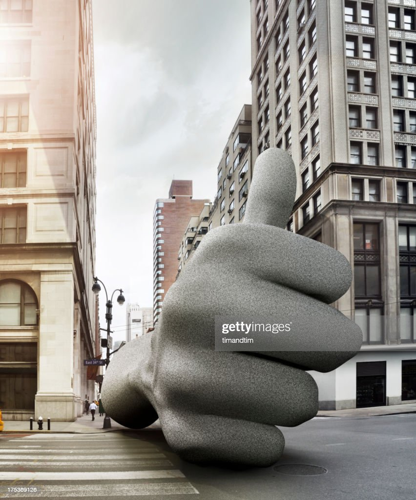 Like icon in the street : Stock Photo