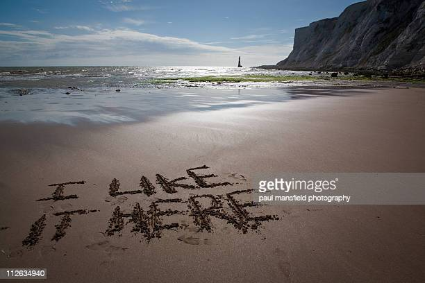 i like it here - eastbourne stock pictures, royalty-free photos & images