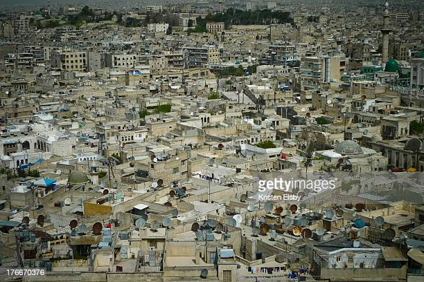CONTENT] Like many Middle Eastern cities Aleppo is densely packed with sandcoloured concrete and stone housing closely jammed together topped by...