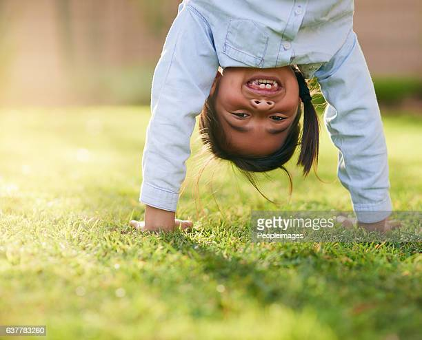 i like seeing the world from this angle sometimes - innocence stock photos and pictures