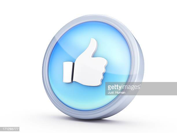 like symbol - like button stock photos and pictures