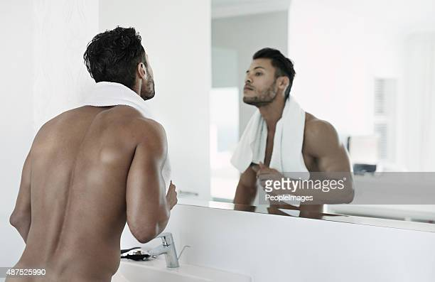 Like the man looking back at you in the mirror