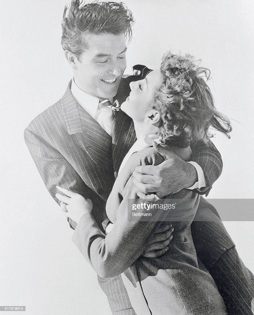 Claudette Colbert and Ray Milland : Nachrichtenfoto