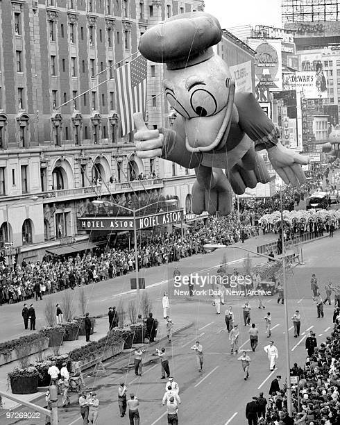 Like turkey the parade makes a New Yorker's Thanksgiving what it is Multitudes of spectators most of them children lined Central Park West and...