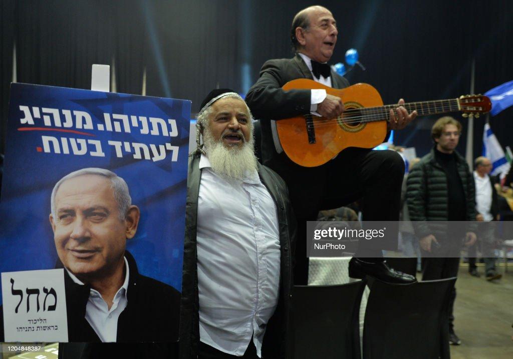 Israeli Exit Polls Show Netanyahu Lead : Nieuwsfoto's