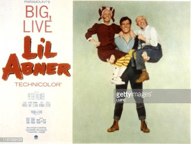 Li'l Abner, poster, Billie Hayes, Peter Palmer, Joe E. Marks, 1959.