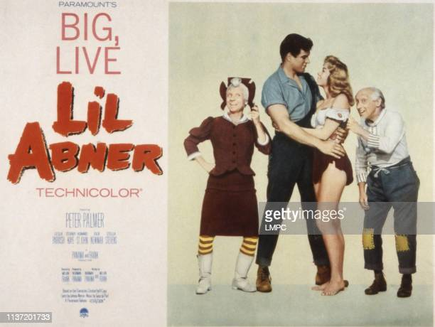Li'l Abner, poster, Billie Hayes, Peter Palmer, Leslie Parrish, Joe E. Marks, 1959.