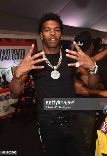 lil baby attends day one of the 2018 bet awards radio remotes on june picture