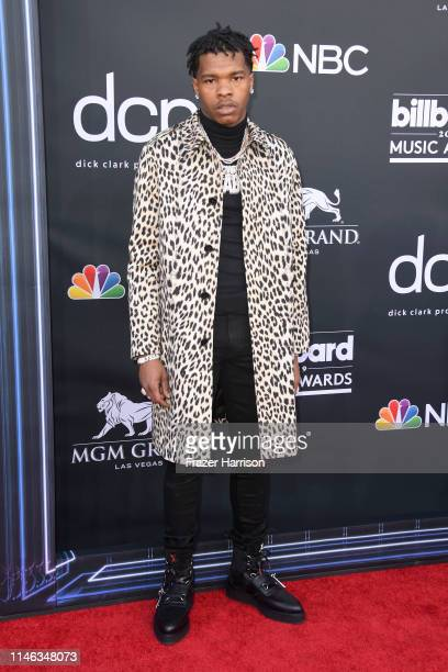 Lil Baby attends the 2019 Billboard Music Awards at MGM Grand Garden Arena on May 01 2019 in Las Vegas Nevada