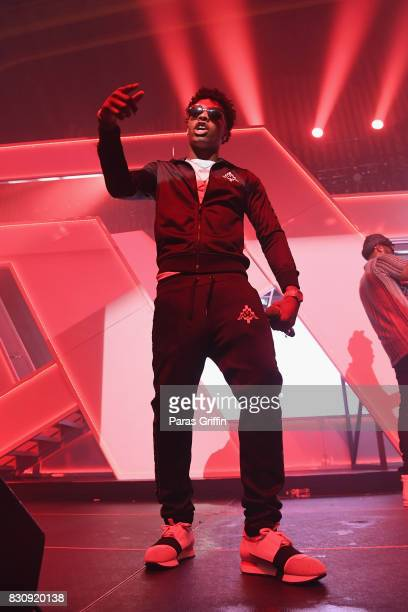 Lil Baby onstage at Spotify's RapCaviar Live at The Tabernacle on August 12 2017 in Atlanta Georgia
