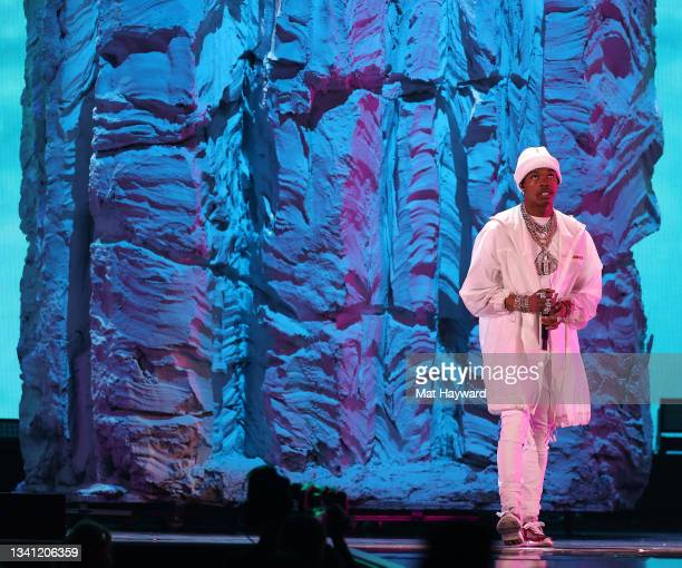 Lil Baby performs during the 2021 iHeartRadio Music Festival at T-Mobile Arena on September 18, 2021 in Las Vegas, Nevada.