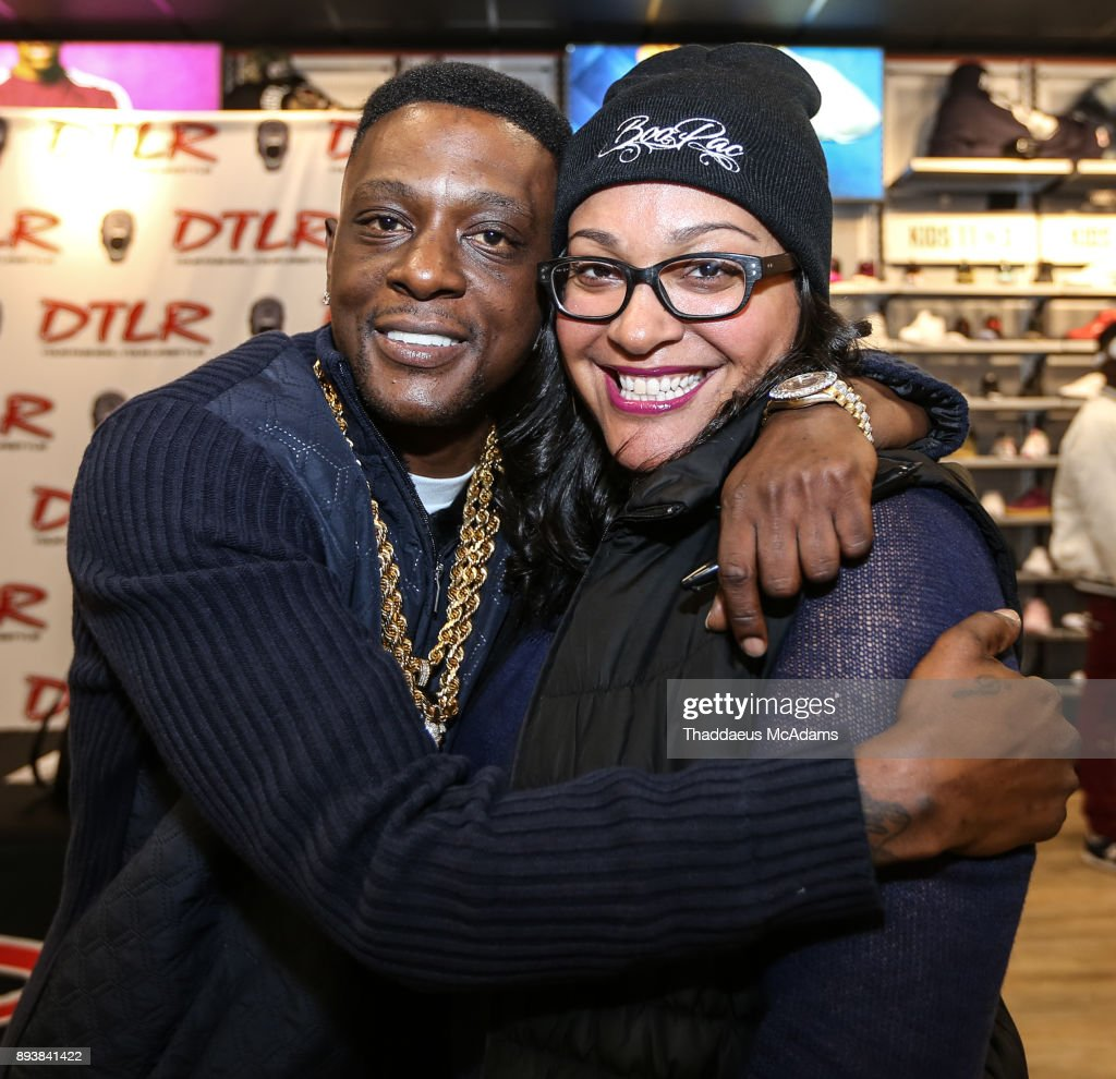 Lil Boosie In Store Appearance