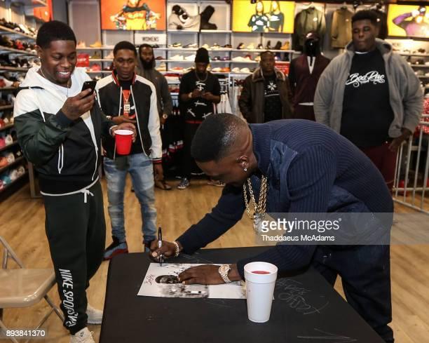 Lil Boosie at DTLR on December 15 2017 in Atlanta Georgia