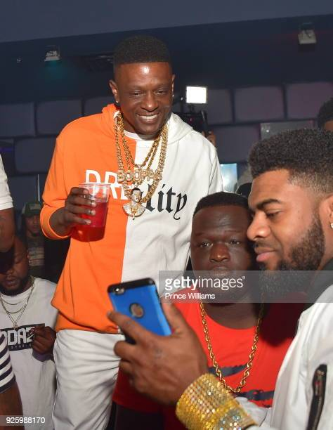 Lil Boosie attends a Party at SL Lounge on February 24 2018 in Atlanta Georgia