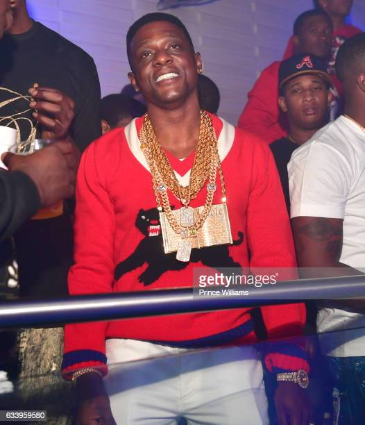 Lil Boosie attends a Super bowl Party at the Engine Room Nightclub on February 4 2017 in Houston Texas