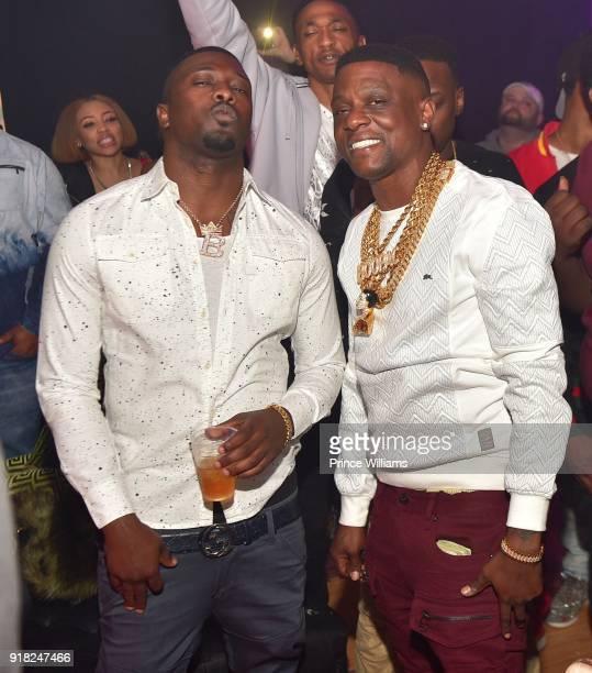 Lil Boosie attends Trap Du Soleil Celebrating YFN Lucci on February 13 2018 in Atlanta Georgia
