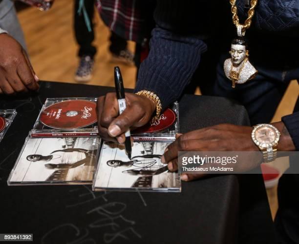 Lil Boosie signs CD's at DTLR on December 15 2017 in Atlanta Georgia
