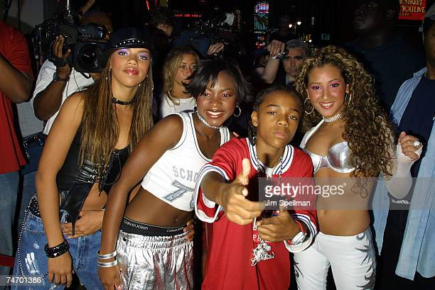 Lil' Bow Wow 3LW at the Bar Code in New York City New York