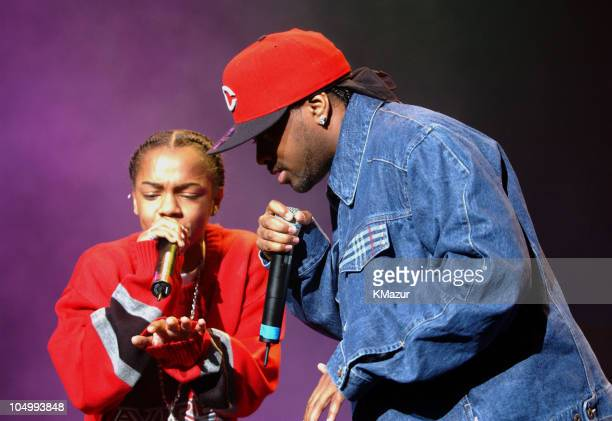 Lil' Bow Wow and Jermaine Dupri during Lil' Bow Wow Fan Appreciation Show at Hammerstein Ballroom in NYC at Hammerstein Ballroom in New York City New...